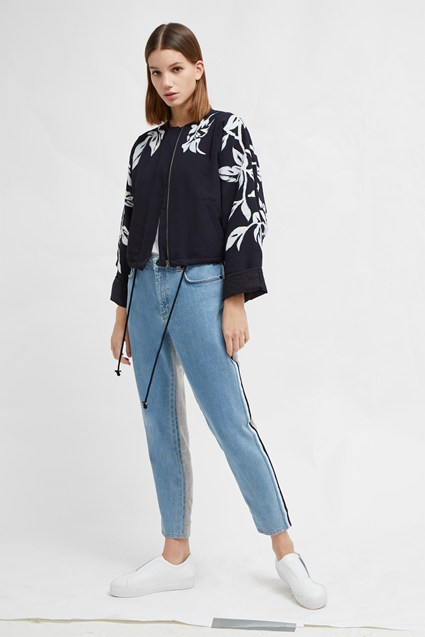 Alleffra Applique Quilted Jacket
