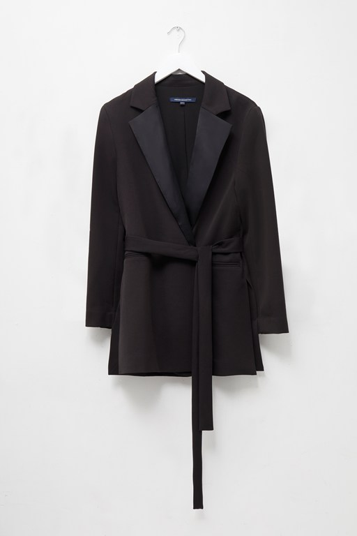 Complete the Look Amato Suiting Tie Waist Jacket