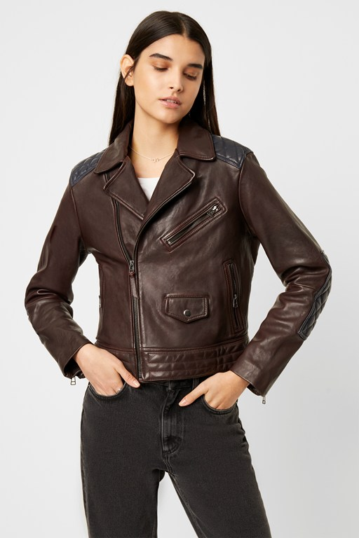 adi adela leather biker jacket