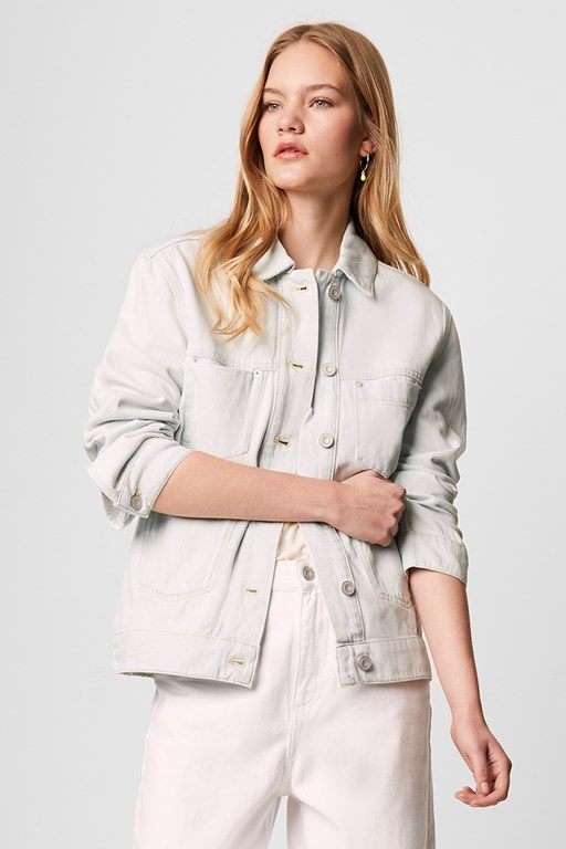 theema relaxed denim jacket