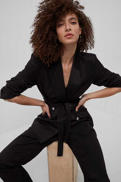 carena suiting double breasted blazer