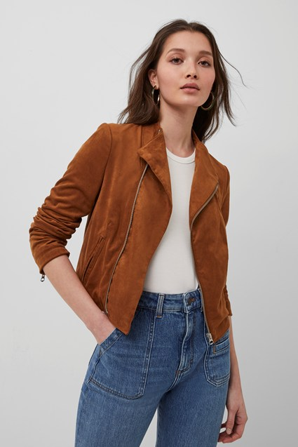 Calira Suedette Fitted Jacket