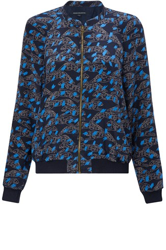 Leaping Leo Bomber Jacket