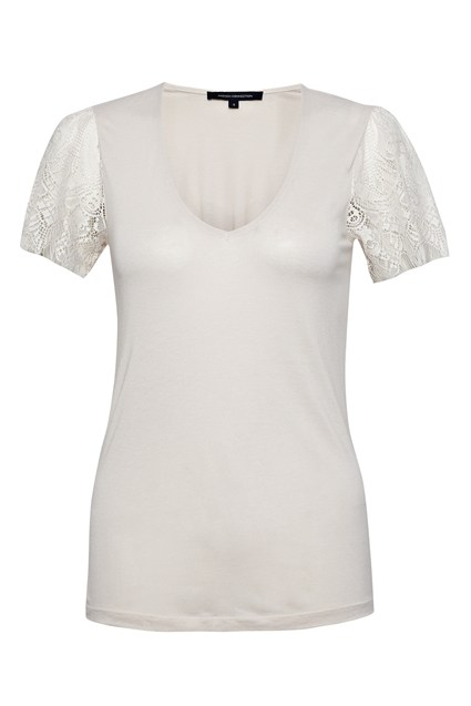 Lola Lace Jersey Top