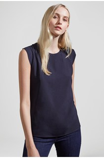 Classic Polly Plains Capped Tee