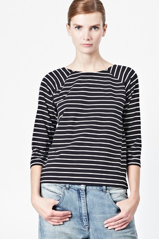 Tim Tim Striped Raglan T-Shirt