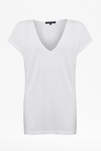 French V-Neck Tee