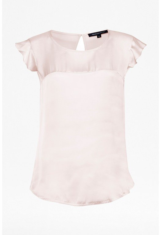 Polly Plains Satin Top