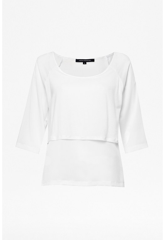 Polly Plains Layered Top