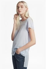 Looks Great With Polly Plains Chiffon Trim T-Shirt