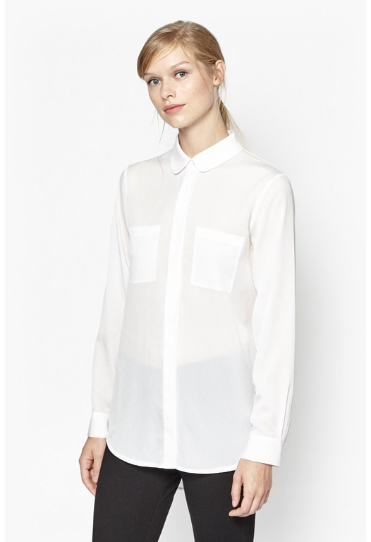 Polly Plains Pocket Shirt
