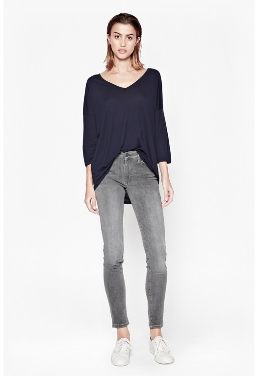 Sonny Plains Slouchy V-Neck Top