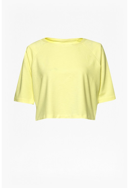 Ft Joshua Crop 3/4 Sleeve Top