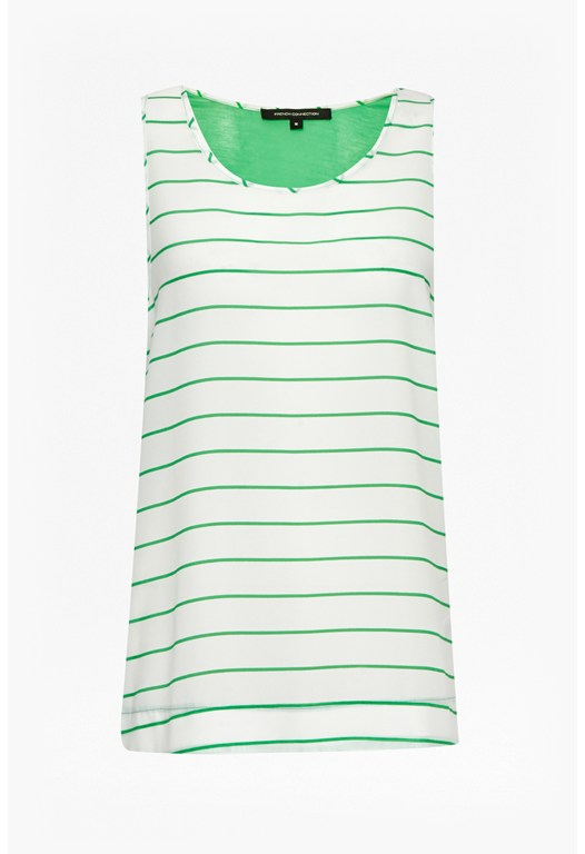 Polly Plains Striped Vest