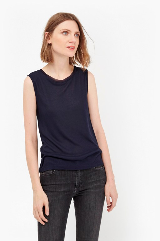 Complete the Look Sid Essential Ribbed T-Shirt