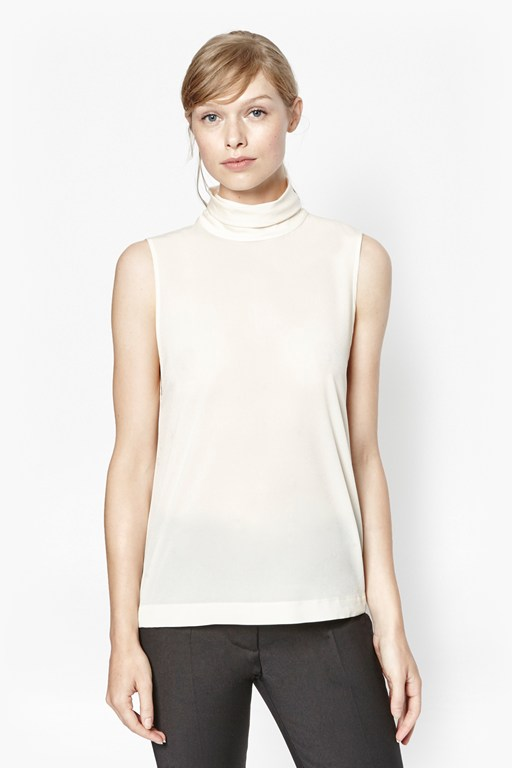 Complete the Look Polly Plains Roll Neck Top