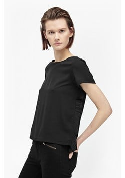 Polly Plains Frill Back Top