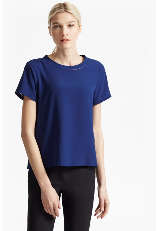 Polly Plains Stitch Detail Top