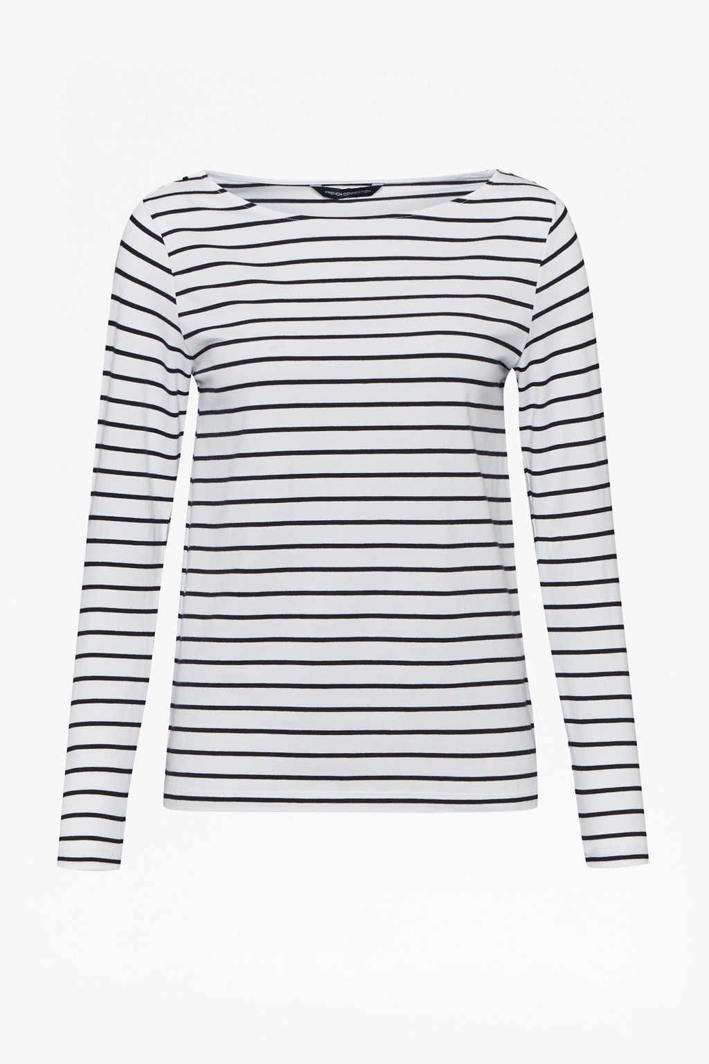 Tim tim long sleeve striped top tops french connection for French cut shirt sleeve