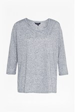 Looks Great With Hetty Marl Linen Blend T-Shirt