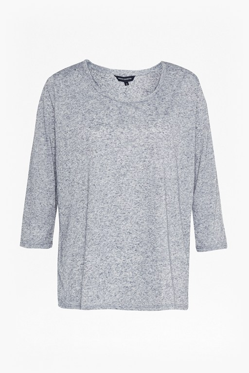 Complete the Look Hetty Marl Linen Blend T-Shirt