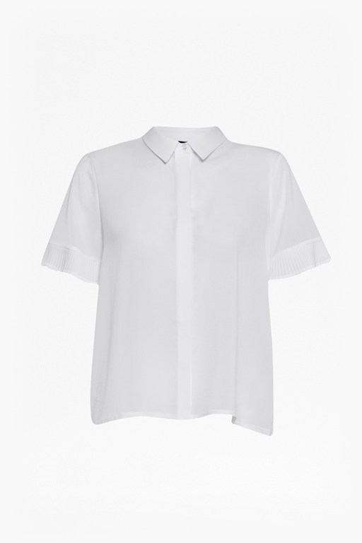 Complete the Look Polly Plains Frill Sleeve Shirt