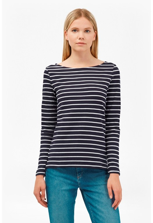 Tim Tim Stripe Long Sleeve Top