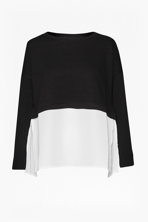 Lerato Jersey Mix Oversized Jumper