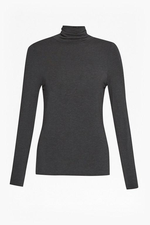 Complete the Look Isla Polo Neck Long Sleeved Top