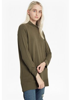 Sudan Marl Ribbed Zip Side Top