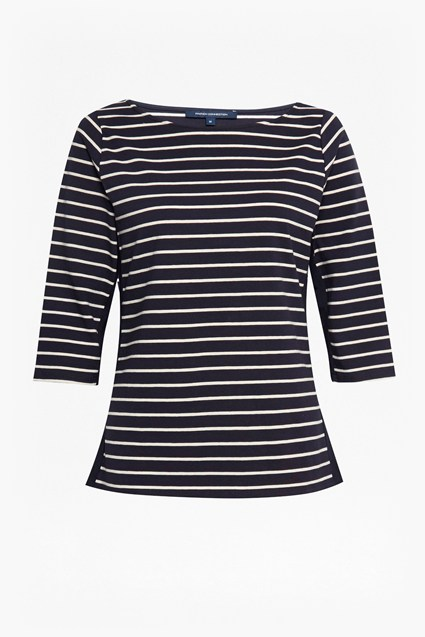 Tim Tim Colour Block Stripe T-Shirt