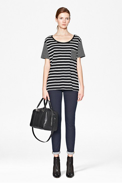 Nouveau Mix Striped T-Shirt