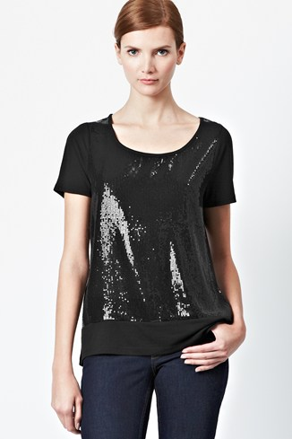 Youth Quake Sparkle Front Top