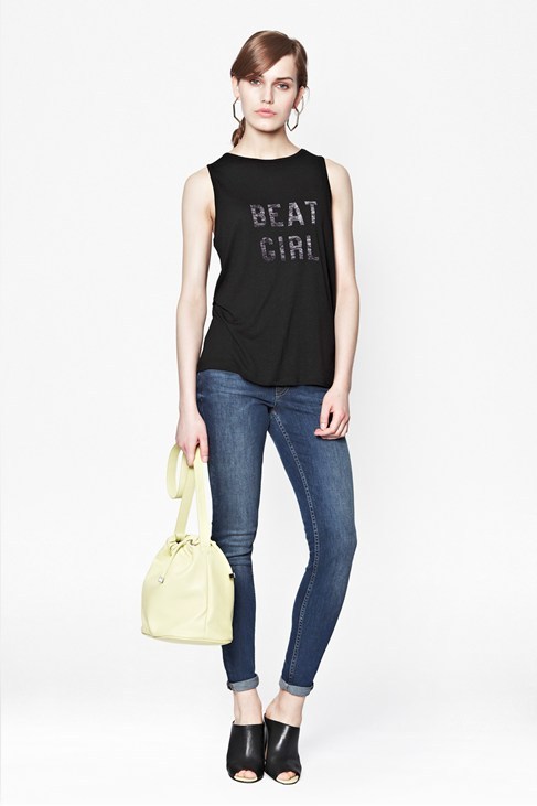 Beat Girl Vest Top
