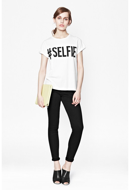 #selfie Cotton T-Shirt