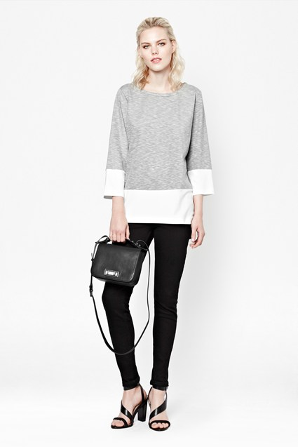 Tudy Colour Block Top
