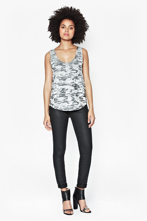 Stable Jacquard Vest Top