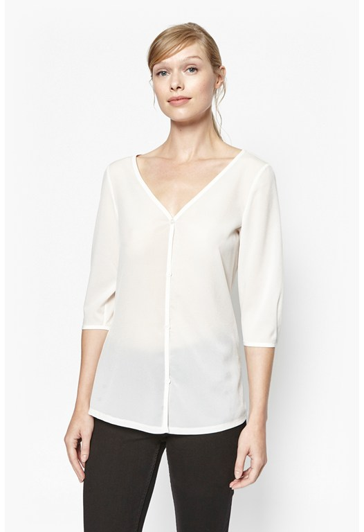 Polly Plains Blouse