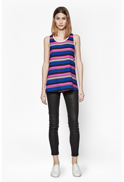 Striped Vest Top