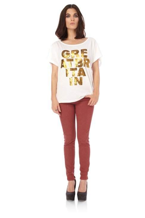 Great Britain Sequins Tee