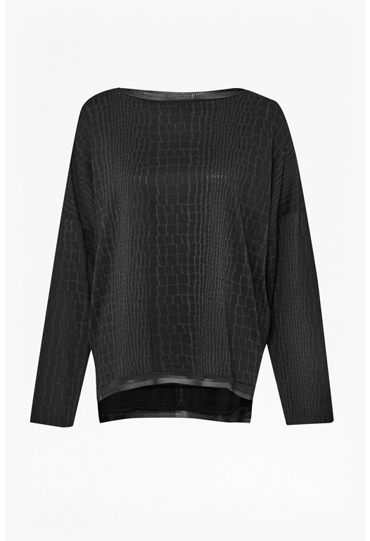 Winter Snake Long Sleeve Top