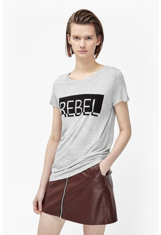 Rebel Colour Block T-Shirt