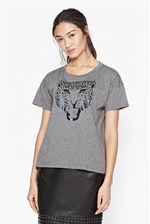 Looks Great With Royal Leopard T-Shirt
