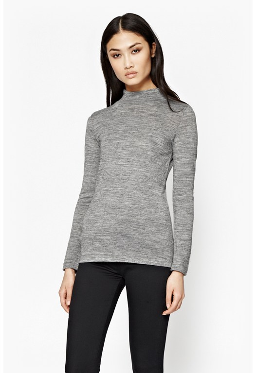 Jimmy Luxe Roll Neck Top