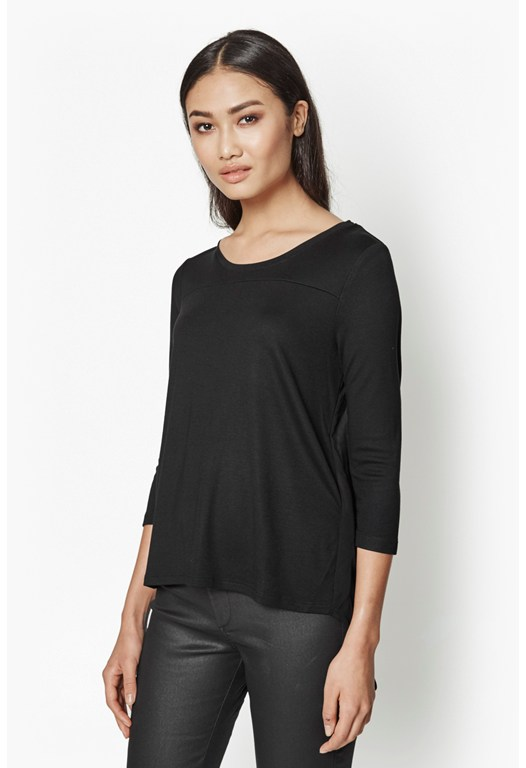 Sicily Frill Sheer Detail Top