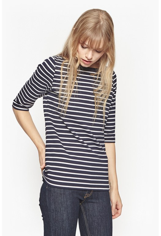 Tilly Stripe Cotton Top