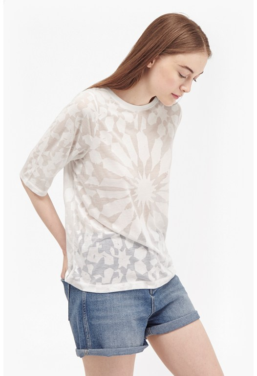 Medina Burnout Loose T-Shirt