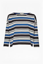 Looks Great With Suo Stripe Long Sleeved Top