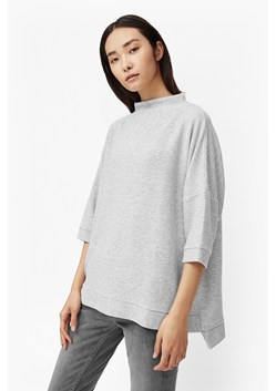 Sudan Marl Oversized Ribbed Top
