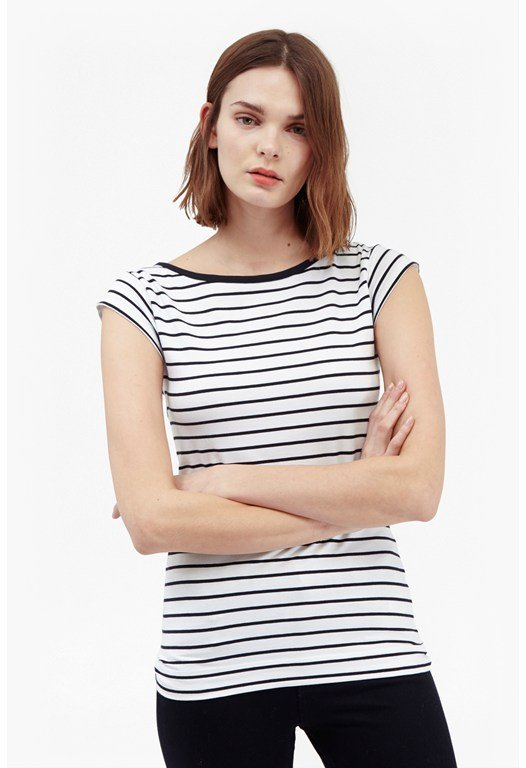 True Stripes Cotton T-Shirt